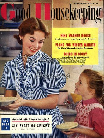 The Advertising Archives | Magazine Cover | Good Housekeeping | 1950s