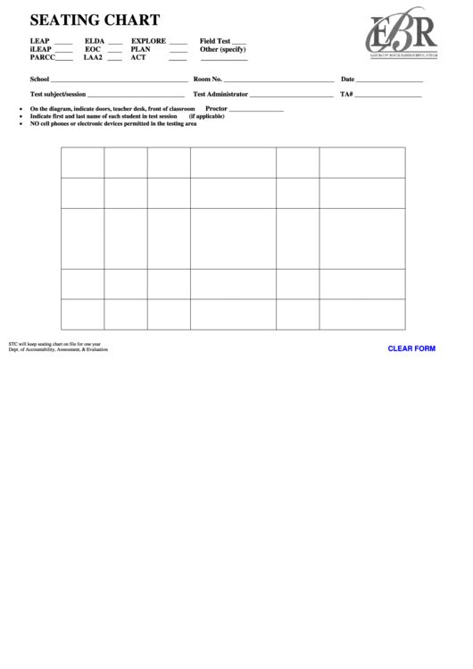 Top 27 Classroom Seating Charts free to download in PDF, Word and ...