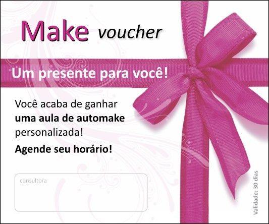 Maria Kriativa - Postal Voucher de MAKE (50 unidades)