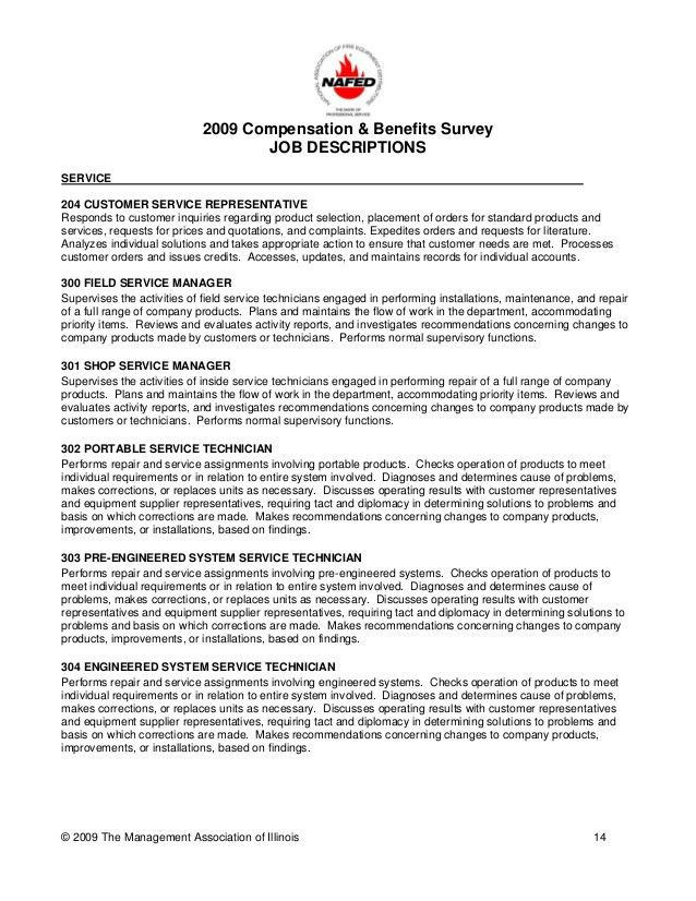 2009 nafed compensation & benefits survey questionnaire