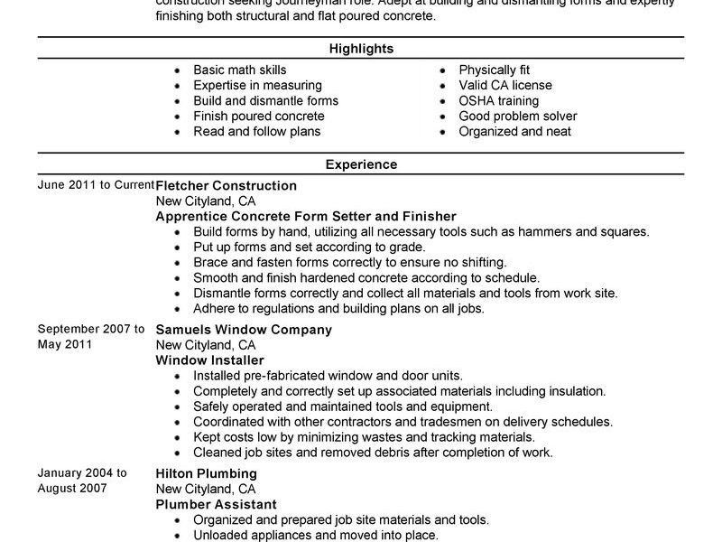 Hvac Resume Objective | haadyaooverbayresort.com