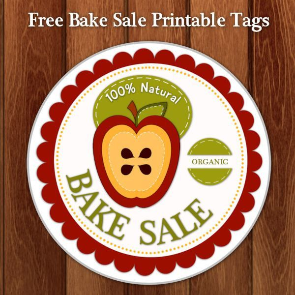 Bake Sale Printables – CuteCrafting