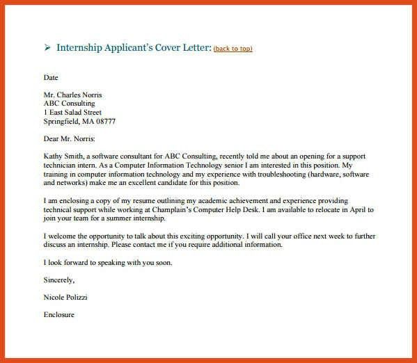 sample email cover letter | moa format