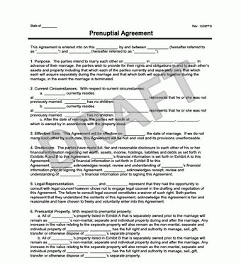 Prenuptial Agreement | Create a Free Prenup | LegalTemplates