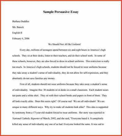 PERSUASIVE SPEECH EXAMPLE | Proposalsheet.com