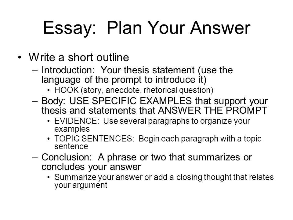 CAHSEE: The Writing Task The Essay Overview LAW, BUSINESS ...
