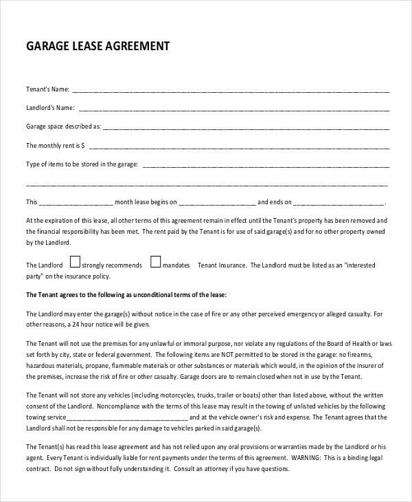 Rental Lease Agreement Template - 13+ Free Word, PDF Documents ...