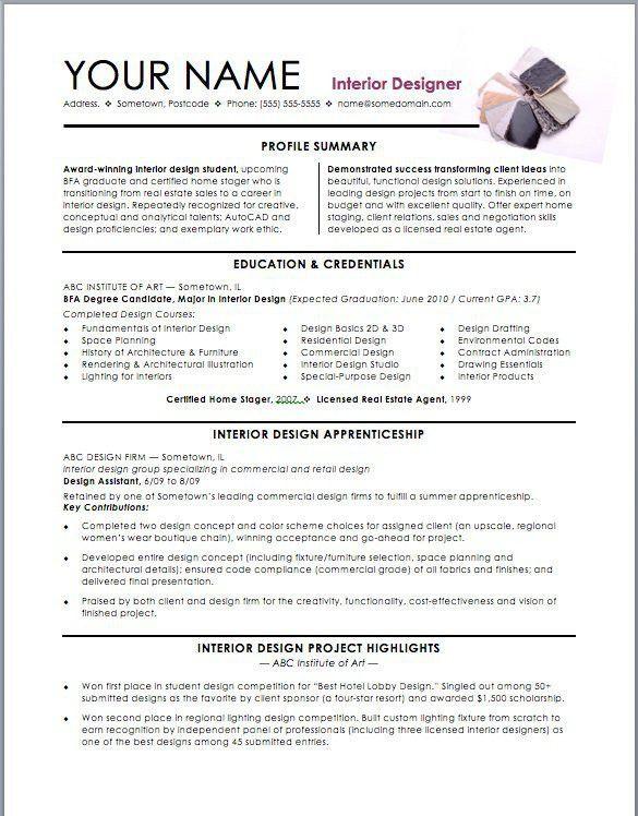 Editor resume