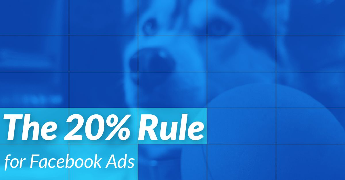 Facebook Ads 20% Image Grid Template - Content Harmony