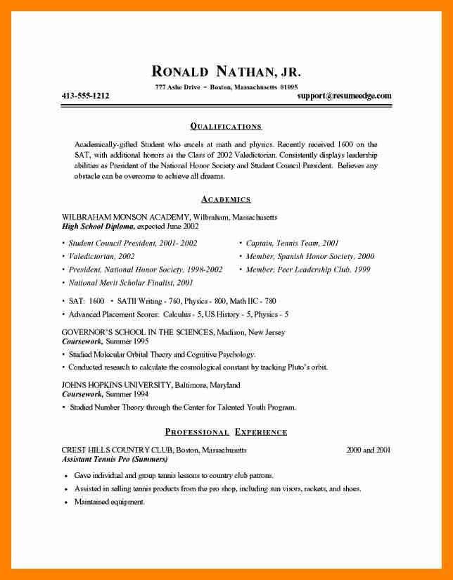 7+ resume examples college student | doctors signature