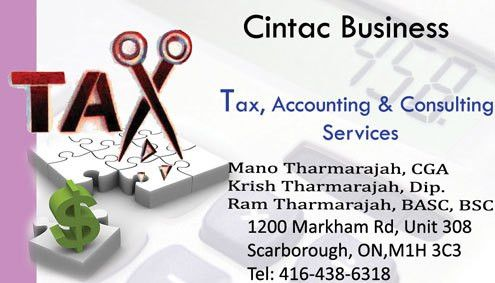 Cintac Business | Scarborough | Ontario Accounting and Tax