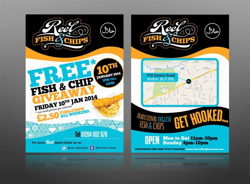 cool restaurant food flyer | Graphic Design | Pinterest