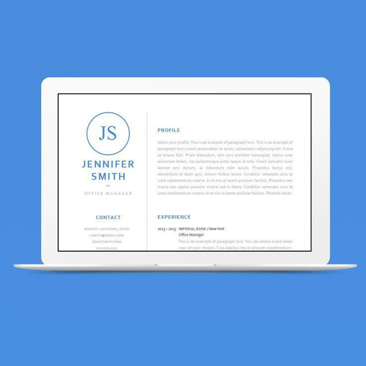 16 best CV Templates - Elegant images on Pinterest | Cv template ...