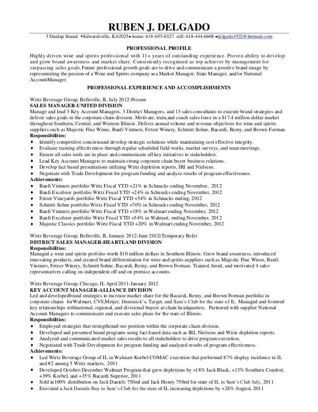 Cell Phone Sales Resume Document Sample - Contegri.com
