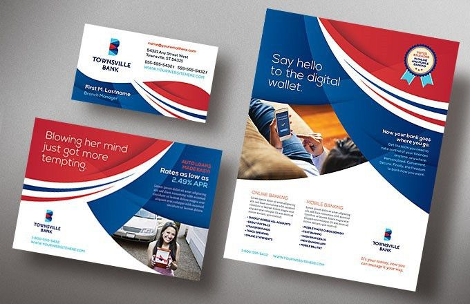 Design Marketing Materials for a Bank Without an Ad Agency ...