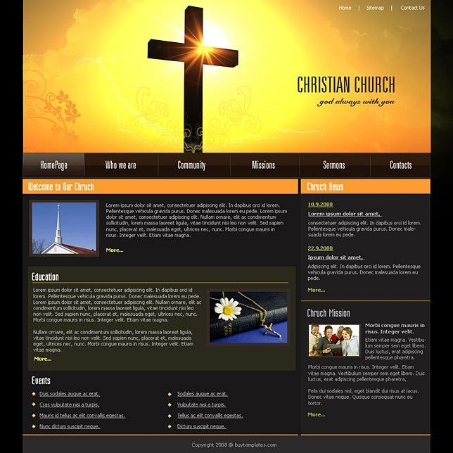 Christian dotnet web templates download