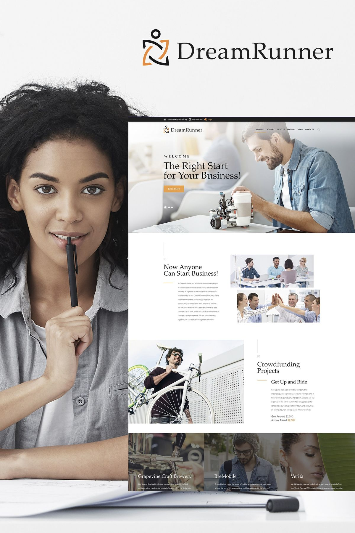 Best Wordpress Business Themes   TemplateMonster