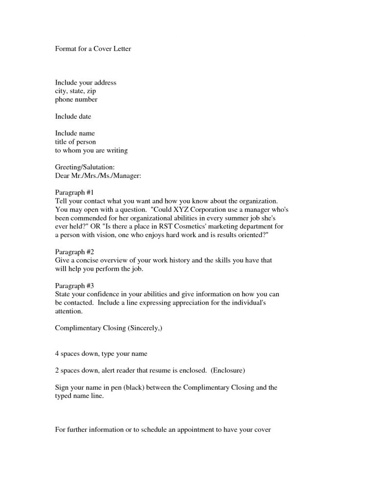 cover letter greetings