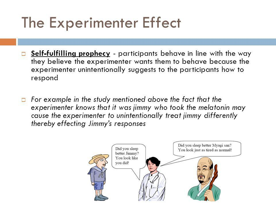 Placebo and experimenter effects - ppt video online download
