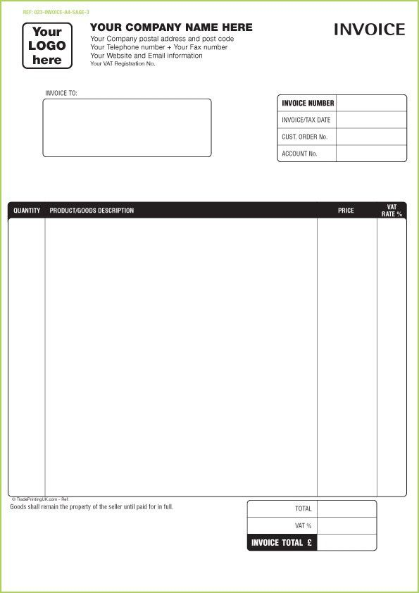 Free Printable Invoice Maker | Template Design