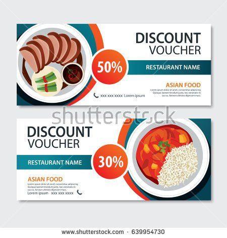 Discount Voucher Template Thai Food Flat Stock Vector 468722204 ...