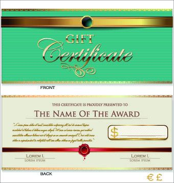 Certificate template cdr format free vector download (214,943 Free ...