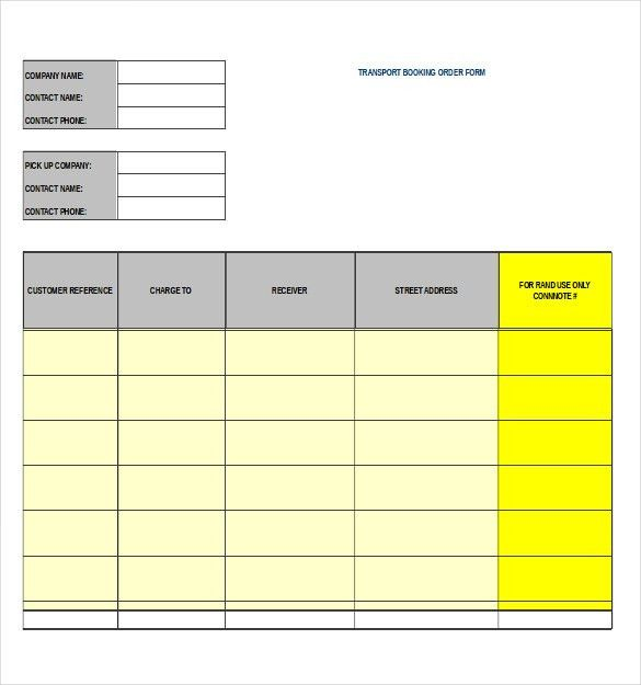 Work Order Template. Service Order Template, Service Order Form ...