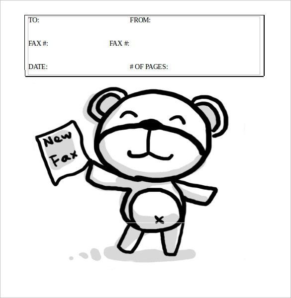 Cute Fax Cover Sheet. 12+ Printable Fax Cover Sheet Templates ...