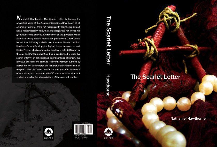 Scarlet Letter | Book cover re-design for the Scarlet Letter… | Flickr