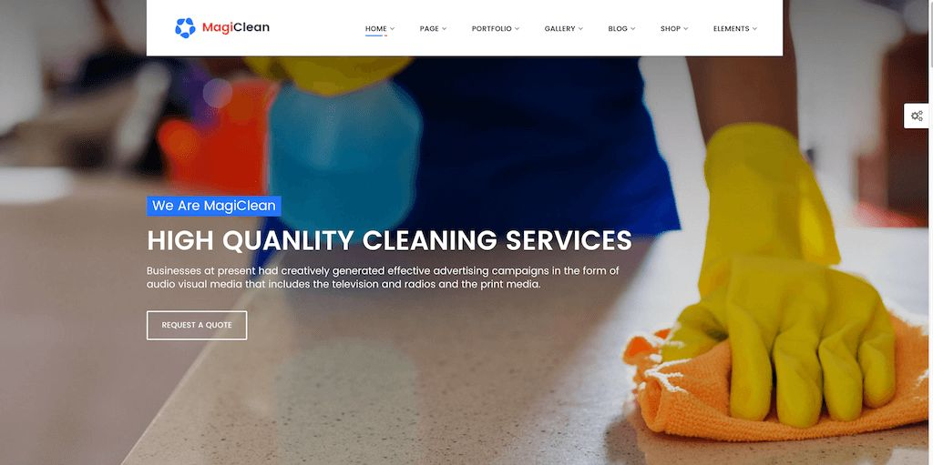 20 Best Cleaning Company WordPress Themes 2017 - Colorlib