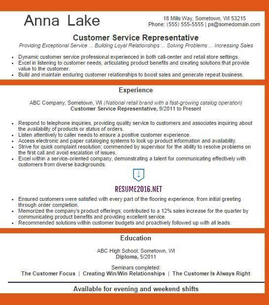 Customer Service Resumes. Customer Service Call Center Resume ...