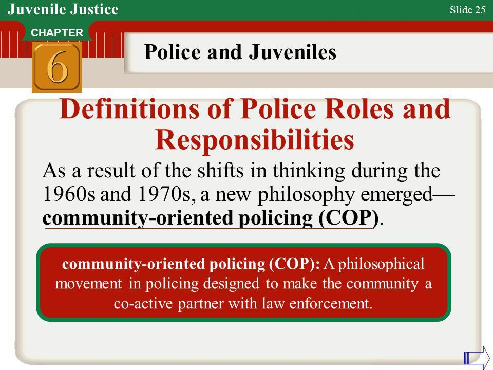 Police and Juveniles Chapter ppt video online download