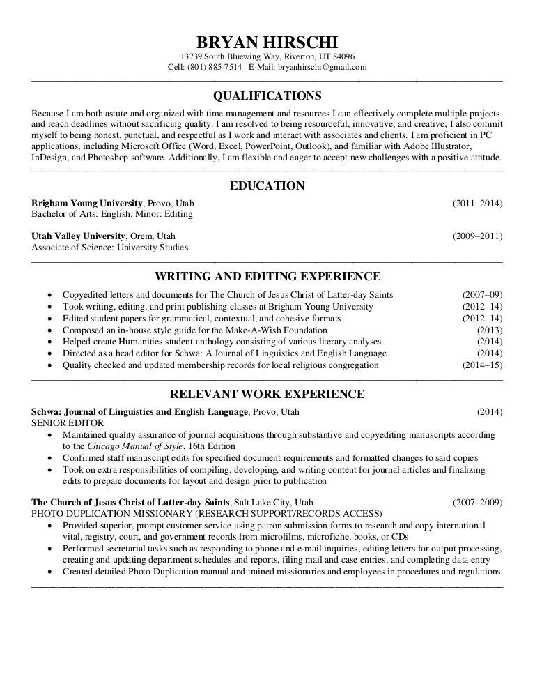 copy editor resume essay format introduction conclusion write my