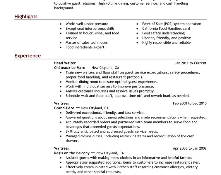 Comely Example Of A Resume Opulent - Resume CV Cover Letter