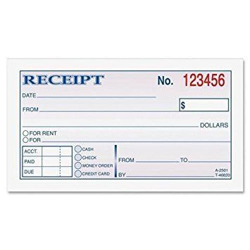 House Rent Receipt Format Pdf, receipt form. sample receipt for ...
