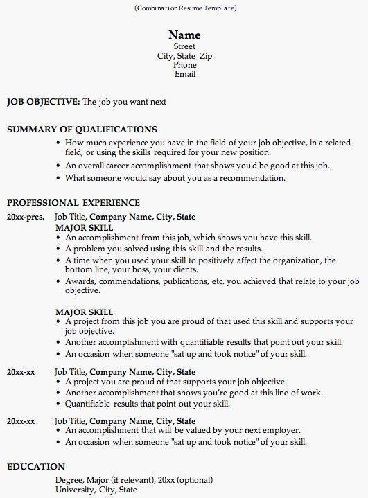 Word 2010 Resume Templates. Best 25+ College Resume Template Ideas ...