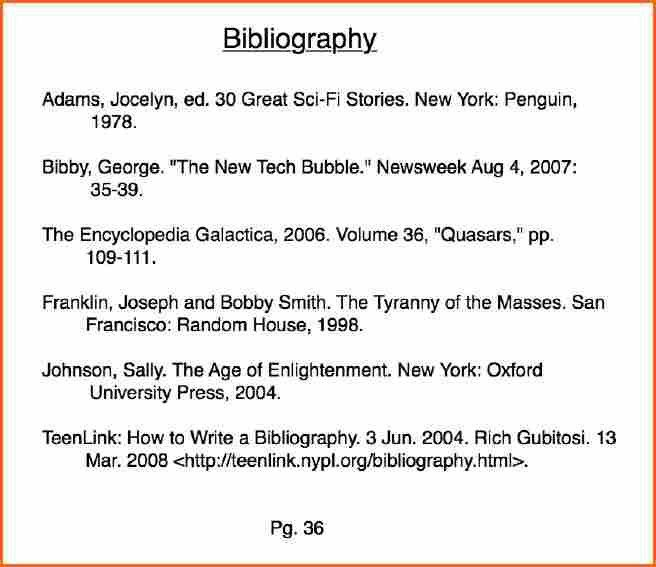 11+ what is mla style bibliography - Budget Template Letter
