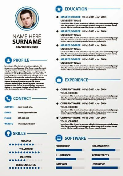 Best 25+ Plantillas para curriculum vitae ideas on Pinterest ...