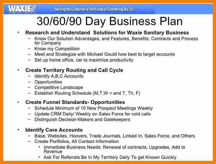 10+ 30 60 90 sales manager plan | science-resume