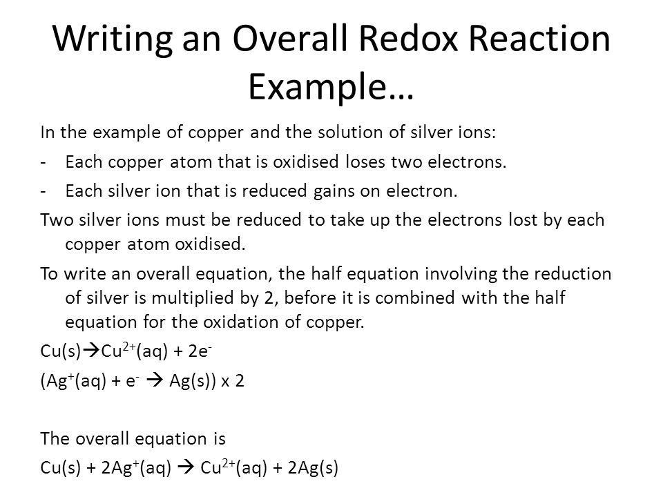 Chapter 16 – Redox Chemistry & Corrosion - ppt download