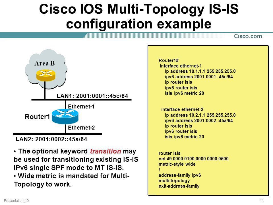 Cisco IOS IPv6 Product Manager - ppt download