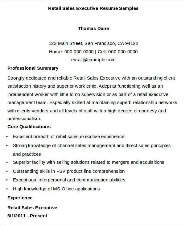 Example Of Executive Resume. Account Manager Resume Example ...