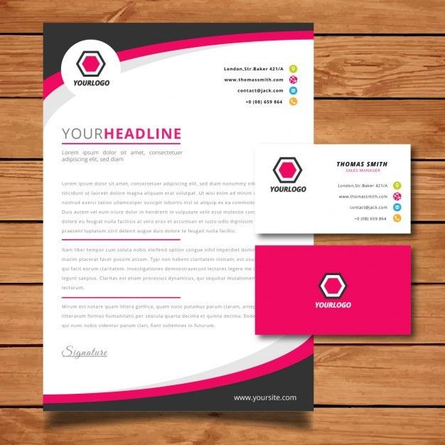 Letter Vectors, Photos and PSD files | Free Download | Letterhead ...