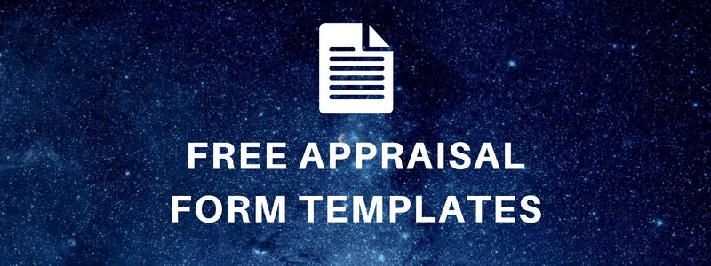 Appraisal Forms - Free Sample Appraisal Forms Download