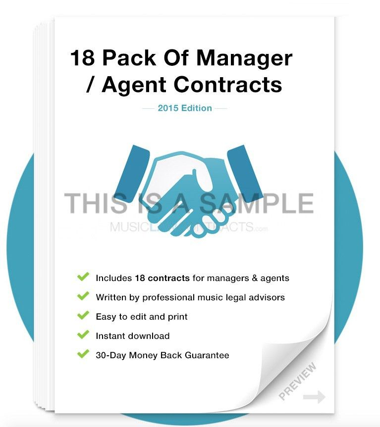Agent Contract Agreement. Player Agent Contract Template Agent ...