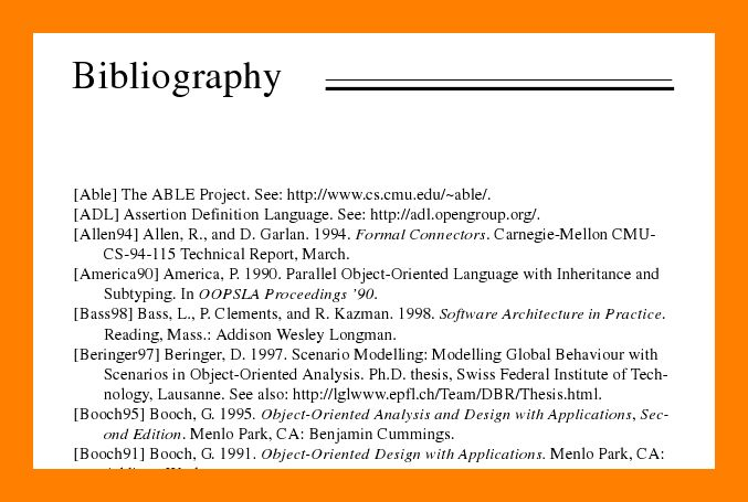 8+ example of bibliography | students resume