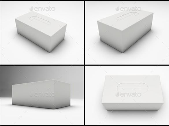 Tissue Box Template - 15+ Sample, Example, Format Download | Free ...