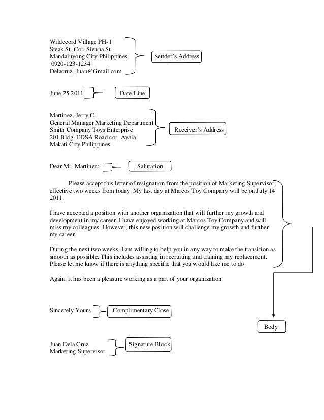 Resignation Letter Format: Colleagues Enjoyed Resignation Letter ...