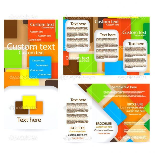 Free Printable Brochure Pamphlet Layout Commercial Invoice ...