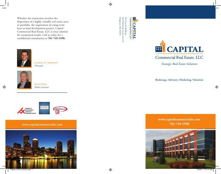 Capital Commercial Real Estate Services Brochure